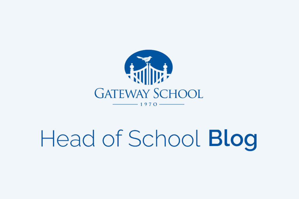 Design image for Head of School Blog